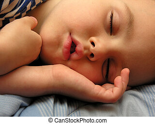 junge, schlaf
