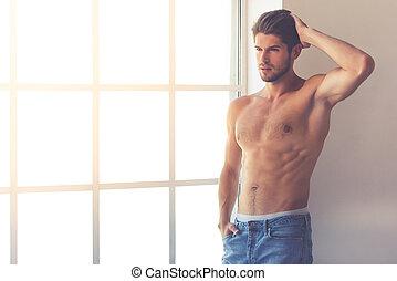 junger mann, sexy
