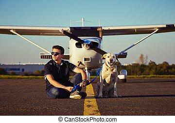 junger, pilot