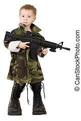 junger, soldat