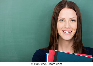 junger, weiblicher student