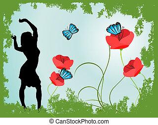 junger, women-silhouette