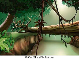 Jungle - background illustration