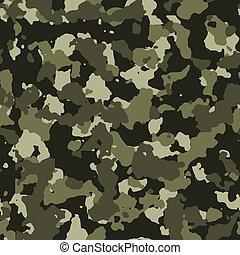 Jungle seamless camo pattern