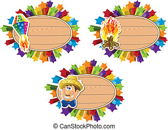 Junina Party Theme template.
