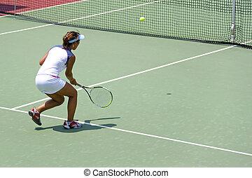 junior, dames, tennis