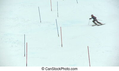 Junior ski racing