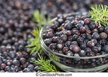 Juniper Berries background image - Heap of Juniper Berries...