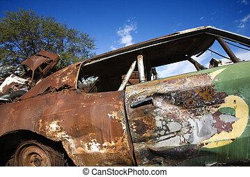 Junk car.