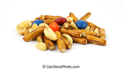 Junk food trail mix