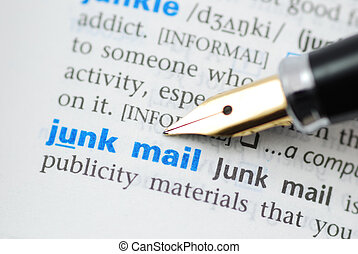 Junk Mail - Dictionary Series