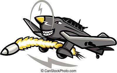 junkers-ju-87-dive-bomber-side-MASCOT