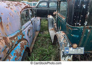 junkyard - Uruguay, Latin America