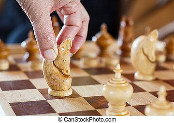 junta xadrez, asiático