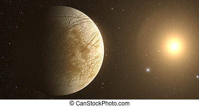 Jupiter Moon Europa