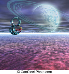 JUPITER PROBE - A probe from Earth is sent to Jupiter to ...