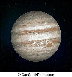 Jupiter realistic Planet