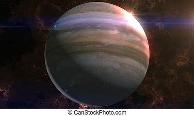 Jupiter Reveal in Space