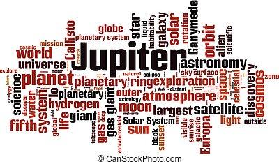 Jupiter word cloud