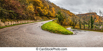 Jura Mountain Road - France
