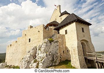 Jura region - Bobolice castle.
