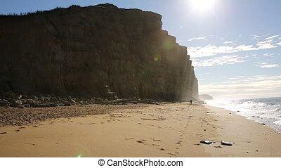 Jurassic coast Dorset West Bay uk - Jurassic coast Dorset at...
