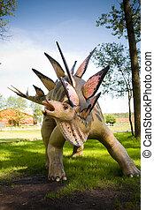Jurassic park - set of dinosaurs - Stegosaurus armatus