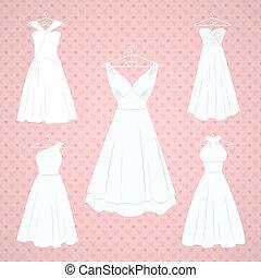 jurken, trouwfeest