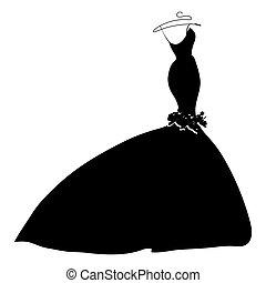 jurkje, silhouette