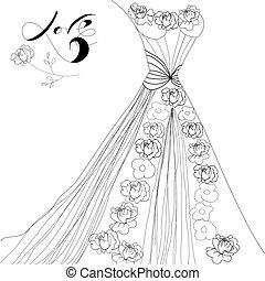 jurkje, trouwfeest