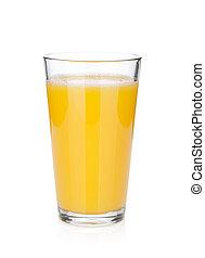 jus d orange, glas