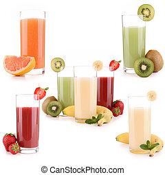 jus, fruit
