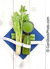 jus légume, pour, être régime