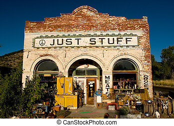 Just Stuff - Photo of a junk store near Lakeview, Oregon...