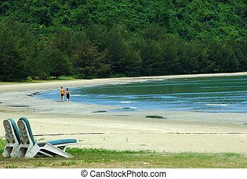 just the two of us - Nexus Karambunai, Sabah Malaysia