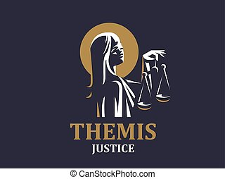 justiça, deusa, themis.