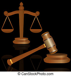 justiça, gavel, escalas