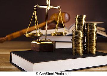 justiça, lei, escalas