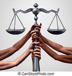 justiça, social
