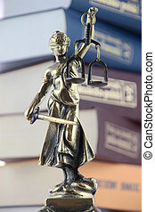 justice., シンボル, 法律