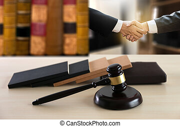 justice and law concept  judge  the gavel,working with digital computer law firms giving confidence