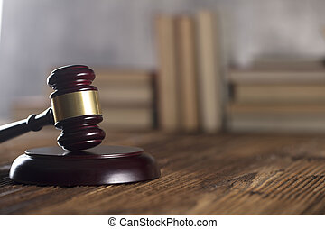 justice, arrière-plan., concept, juge