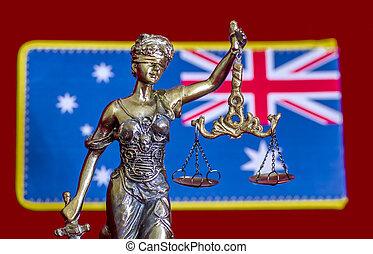 justice, australien, dame