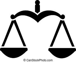 justice, balance équilibre