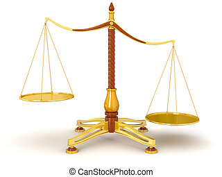 Justice Balance (clipping path)