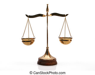Isolated justice balance
