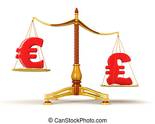 Justice Balance  with Currency