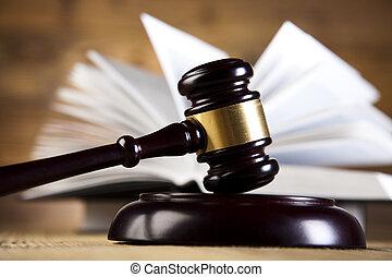 justice, concept, code, légal, droit & loi
