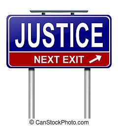 justice, concept.
