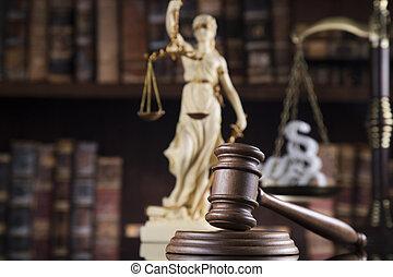 justice, concept, droit & loi, balances
